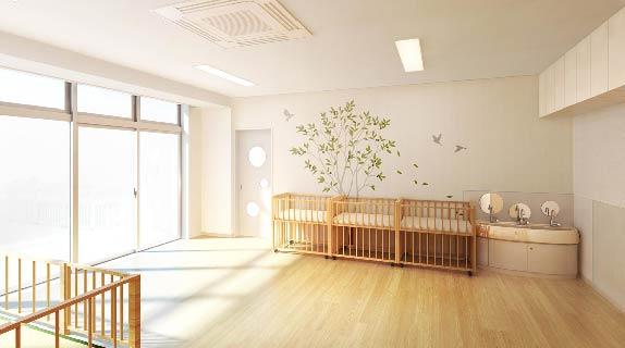 0歳児保育室